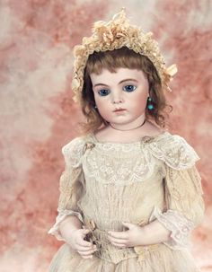 In a Perfect World: 91 Very Beautiful French Bisque Bebe by Leon Casimir Bru,Size 9
