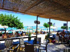 ☀️ 🍹🌴  🍉  #CoconesBar #Cocones #BlueFlagBeach #CocktailBar #Polichrono #Halkidiki #Cocktails #StreetFood #HalkidikiBars Sbar, Pergola, Cocktails, Outdoor Structures, Patio, Beach, Outdoor Decor, Home Decor, Craft Cocktails
