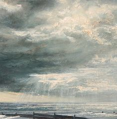 """Sarah Spencer ~ """"Whitstble with Breakwaters"""" (Détail)"""