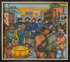 Blue-Uniformed Members of the Salvation Army Singing, Playing their Instruments and Saving Souls Giclee Print by Ronald Ginther at Art.com