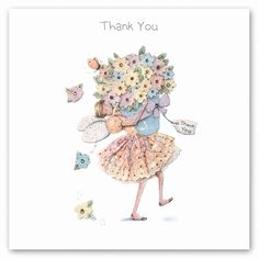 Cards » Thank You » Thank You - Berni Parker Designs