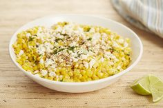 Mexican street-style corn meets corn salad in the best way. Get the recipe.   - Delish.com