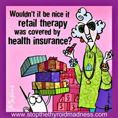 Maxine - retail therapy health insurance
