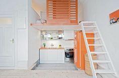 Idee per arredare una cucina piccola Idee arredo cucina piccola-30 – DesignBuzz