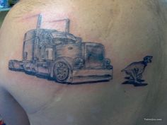 1000 images about tattoos on pinterest deer tattoo for Truck tattoos designs