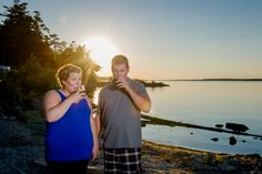 Krista and Chris - Ottawa Wedding Magazine  Engagement Photos #Arnprior #Ottawa #Canada #MondaysWithMacPhotography #photography #weddings #beach #RyeAndCoke #sunset http://www.mondayswithmacphotography.com/