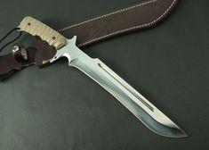 CK185 Huge Custom Bowie Knife Handmade Knife, Canada Knives and Swords