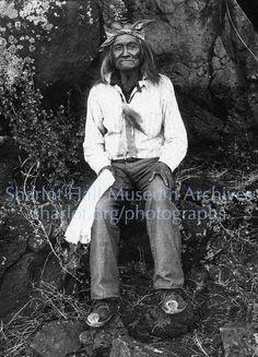 Apache Chief Geronimo; 1886