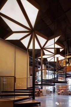 Creative!  #office #design #moderndesign #ceiling   http://www.ironageoffice.com/