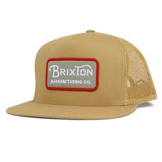 Grade Trucker Hat by Brixton- COPPER Brixton Hats 5b5a2701e87d