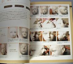 Ryo Yoshida Style Ball Jointed Doll-Making Guide Book