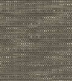 Home Decor 8''x 8'' Fabric Swatch Upholstery Fabric-Waverly Tabby Graphite, , hi-res