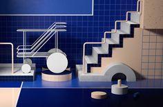 Le magazine de luxe, Bloomberg Pursuitsvient de commander au studio de design argentin Six & Five, la direction artistique de dix pages spéciales été.
