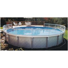 I love this idea for out outdoor pool!  Build a small deck, plus add the pool fencing!