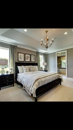 Window treatments for bed between two windows