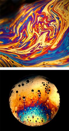Macro Soap Film Photography by Jane Thomas