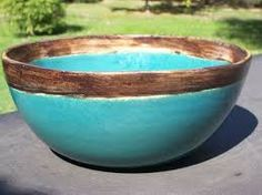 resultado de imagen para bachas de baño en ceramica pintadas a ... - Bachas Para Bano Pintadas A Mano
