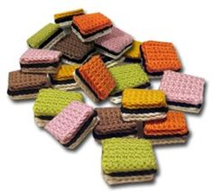 Crochet confectionery