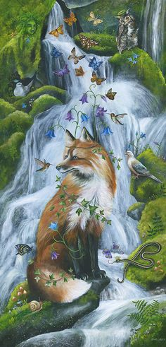 SPIRITS OF THE WATERFALL BY JANIE OLSEN