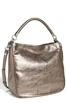 Ooh, sweet Marc Jacobs hobo. Really great color.
