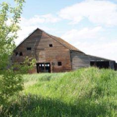 I love the prairies Barns, Canada, Cabin, House Styles, Home Decor, Cabins, Barn, Cottage, Interior Design