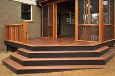 HGTV is showing you design and materials ideas for outdoor steps and stairs.