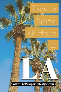 The ultimate LA travel guide! A great way to spend 48 hours or a weekend in Los Angeles California with this bucket list of things to do. Great for both luxury and budget travel, via www. Travel Checklist, Travel List, Budget Travel, Travel 2017, Work Travel, Travel Stuff, Canada Travel, Travel Goals, Italy Travel