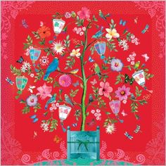 Clare Maddicott Publications is a publisher of design-led greeting cards and gift wrap. Folklore, Tree Illustration, Beautiful Dream, Pictures To Draw, Art Education, Blue Bird, Blossoms, Art For Kids, Postcards