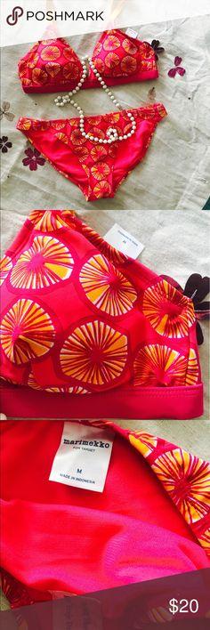 New bathing suit New bathing suits good colors Marimekko Swim Bikinis