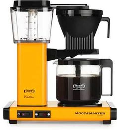 Moccamaster KBG 741 Coffee Brewer with Glass Carafe, Orange *** Additional details found at the image link : Coffee Maker Drip Coffee Maker, Coffee Cups, Coffee Creamer, Coffee Scrub, Coffee Drinks, Pour Over Coffee, Latte Macchiato, Mocca, Black Coffee