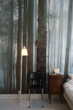 tree mural .. new idea for your room? #wildlife