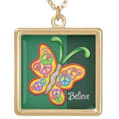 Clockwork Butterfly Necklace - Green Diy Gifts For Mom, Diy Father's Day Gifts, Father's Day Diy, Presents For Mom, Fathers Day Gifts, Firefighter Gifts, Butterfly Necklace, Green Necklace, Animal Skulls