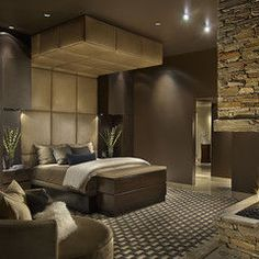 contemporary bedroom by Angelica Henry Design