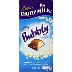 cadbury bubbly white chocolate calories - Google Search
