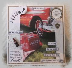 Connie`s lille verden Coca Cola, Cards, Maps, Cola, Coke