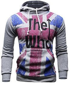 eda9f8cba96 Mooncolour Mens Novelty Color Block Hoodies Cozy Sport Autumn Outwear - The  Who