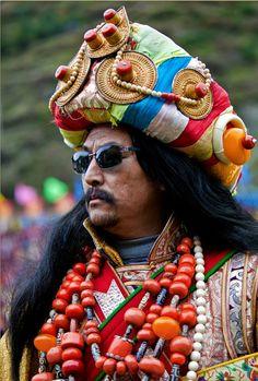 Tibetan finery