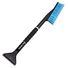 26″ Snow Brush and Ice Scraper with Foam Grip for Trucks, Vans, SUVs and Other Cars