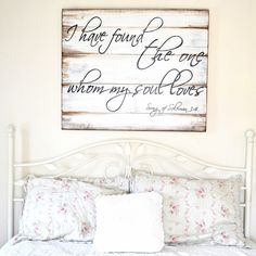 """I have found the one"" Wood Sign {customizable} - Aimee Weaver Designs"