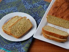 Avocado Quickbread ~ Learning To Eat Allergy-Free, Gluten Free ,Nut Free, and Soy Free. Vegan Avocado Chickpea Quickbread. This bread is SO delicious!