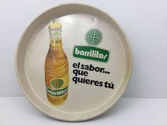Vintage Mexican Barrilitos Soda Advertising Metal Serving Tip Tray Sign Colorful | eBay