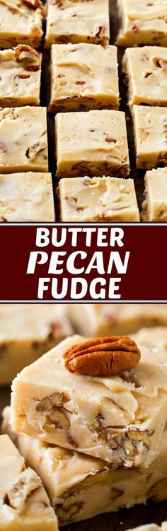 Butter Pecan Fudge-