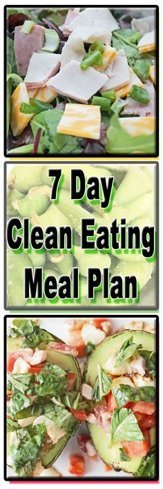 7 DAYS OF CLEAN EATING -- WITH OUR EASY HEALTHY CLEAN EATING MEAL PLAN -- FOR FREE!