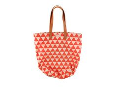 Bag O' Booty Tote/Shopper in printed canvas with by missibaba, $45.00