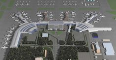 Moscow's Domodedovo Airport expansion