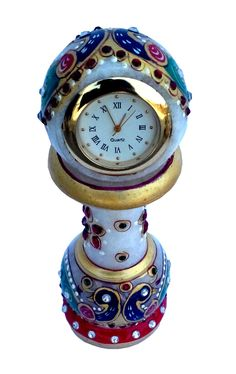 Shop now #marble pillar #watch for your home #decoration and office decoration with #craftshopsindia