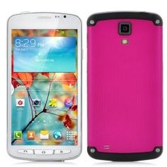 Flare 4.7 Inch Screen 3G Smartphone - MT6572 Dual Core 1.2GHz CPU, Support Dual SIM, Dual Cameras (Pink)