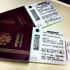 #volando a #los #angeles #california #usa #viajes #iberia #a340   Flickr: Intercambio de fotos