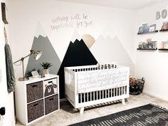 Nursery Inspiration Nursery Wall Mural Mountain Nursery Inspo