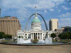 Jefferson National Expansion Memorial in Saint Louis, Missouri